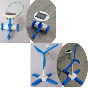 Robot 6 in 1 chạy năng lượng mặt trời