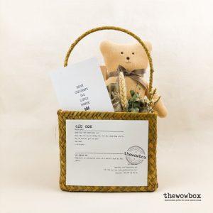 [Quà tặng bé] THE NUMBER BOX LIMITED – Set 2 bộ đồ chơi toán học bằng gỗ kèm gấu bông xinh xắn