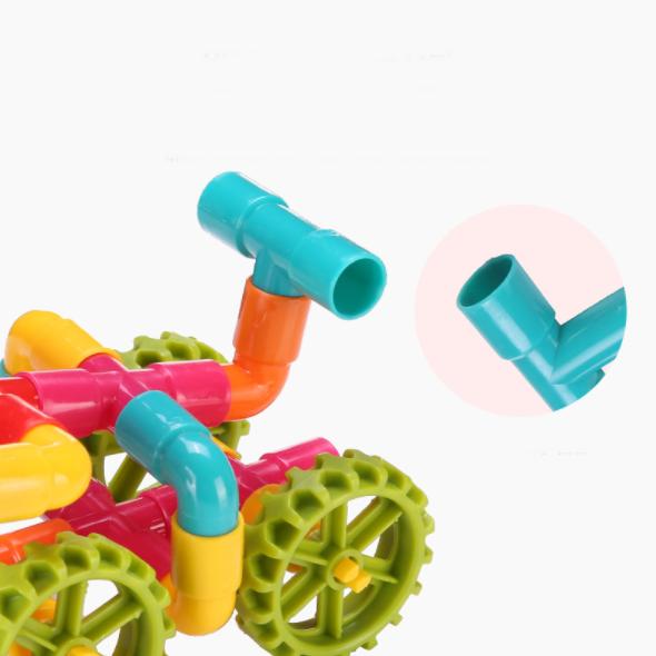 Bộ xếp hình khối ống nước cho bé